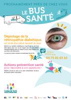 Affiche Bus Santé 2021