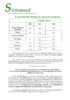 Informations sur la gestion des déchets – SICTOMSED